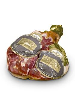 Prosciutto di Parma DOP disossato sfioccato 8 kg ca - Gran Riserva Leporati