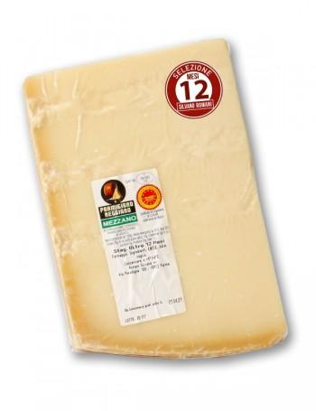 Parmigiano Reggiano DOP Mezzano stag. 12 mesi 750 g ca. selezione Silvano Romani
