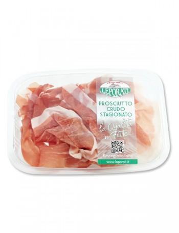 Prosciutto crudo Leporati stagionato oltre 26 mesi 90 g (Consegna solo in Italia)
